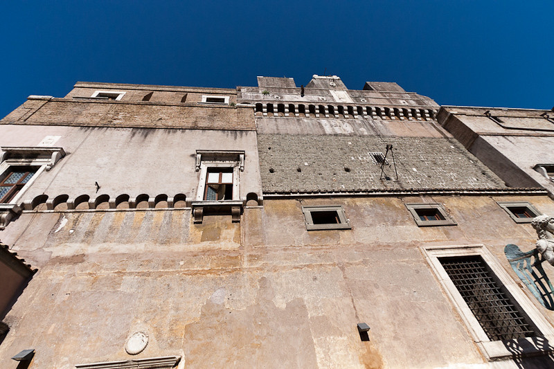 Exterior walls of Castel Sant'Angelo