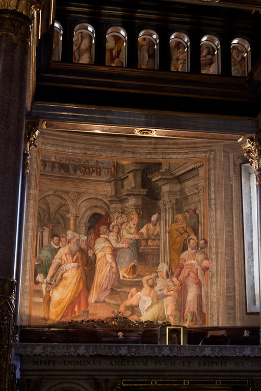 Painting inside Church of St. Peter in Chains