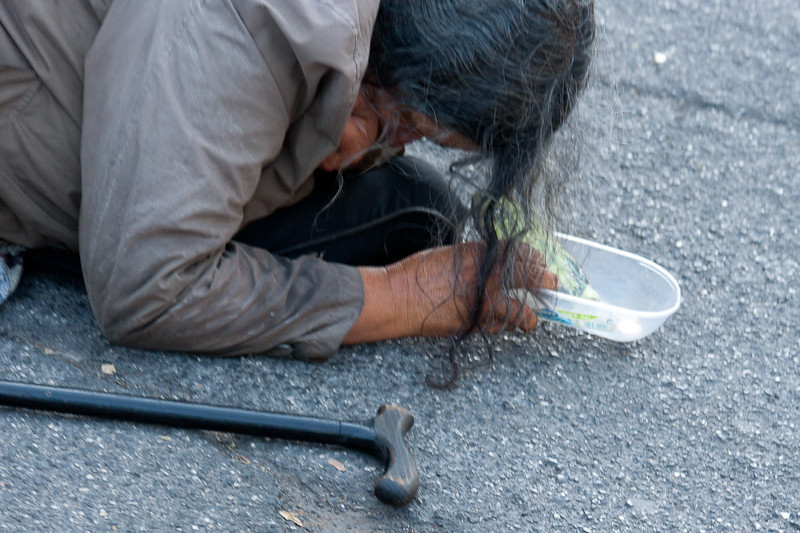 A typical beggar of Rome