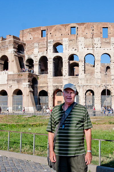 I was at the Colosseum