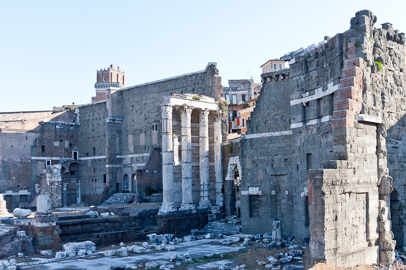 Part of the Roman Forum