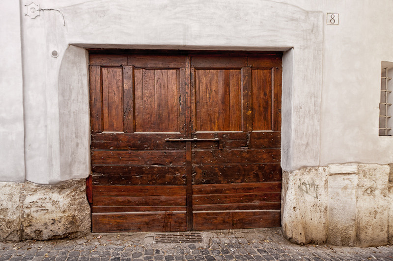 Doorway in the Rome Jewish Ghetto