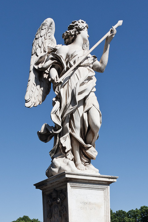 Statue on the Bridge of Angles (Ponte Sant'Angelo)