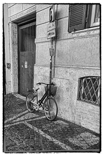 Bike in B&W