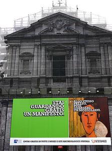 Rome building w/billboard P1030390.JPG,