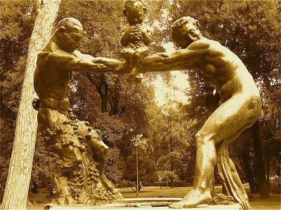 Borghese Gardens Statues, Rome Italy P1030415.JPG,