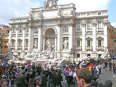 Trevi Fountian, Rome, Italy,P1020928.JPG