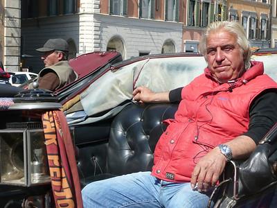 Cab driver, Rome