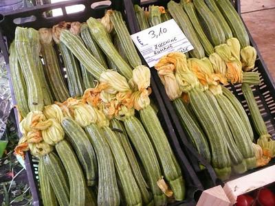 Zucchini, Rome, Italy