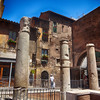 The Forum was the Government Center and Market Place in 176 BC in Rome Italy