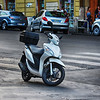 Scooter is Best Way to Get Around Town in Rome Italy