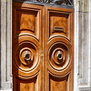 Heavy Doors in Rome Italy