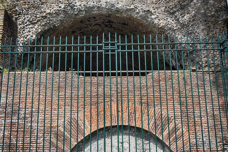 Roman Wall in Rome Italy