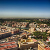 Looking at Rome From the Top of St Peters Basilica in Rome Italy 23