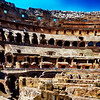 Inside Colosseum in Rome Italy 200