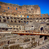 Inside Colosseum in Rome Italy 203