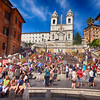 Rome Italy Near Spanish Steps 2