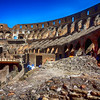 Inside Colosseum in Rome Italy 202