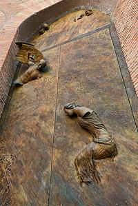 Roman Basilica 3D Door Sculputre