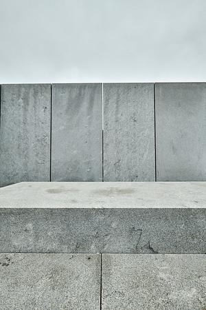 April 18, 2019 - New York, NY -   Roosevelt Island locations from the tram south - including Four Freedoms Park  © Robert Altman  Photographer- Robert Altman Post-production- Robert Altman