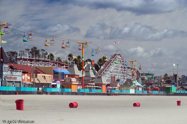 Santa Cruz Amusement Park - Santa Cruz, CA, USA