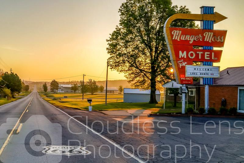 Munger Moss Sunrise