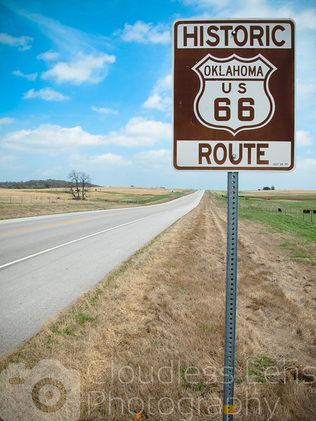 The Route in Oklahoma