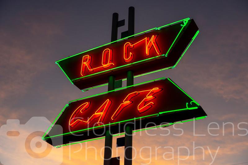 Rock Cafe Neon