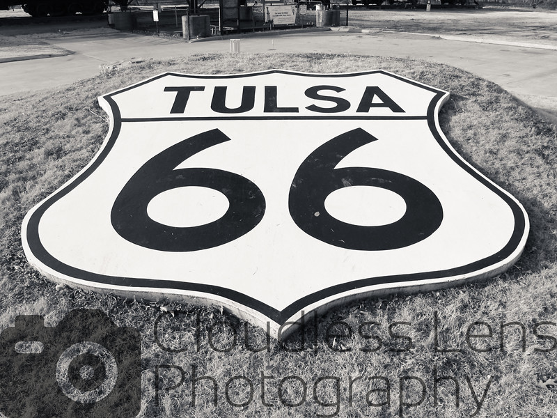Tulsa 66 Shield