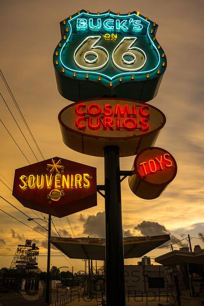 Buck's Neon Dusk