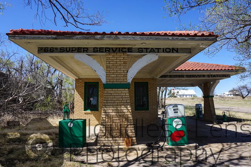 """""""66"""" Super Service Station"""