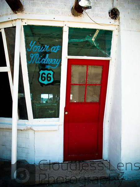 The Bent Door