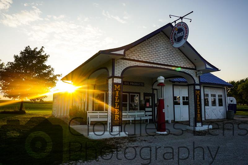 Sunset in Odell