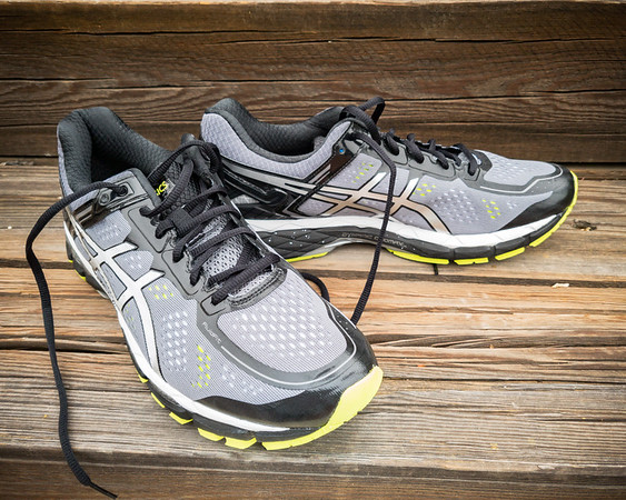 JUNE - Today's 10+ mile run will break in a new pair of shoes... just a few generations behind ASICS' latest.  I actually got this pair back in January of 2016!