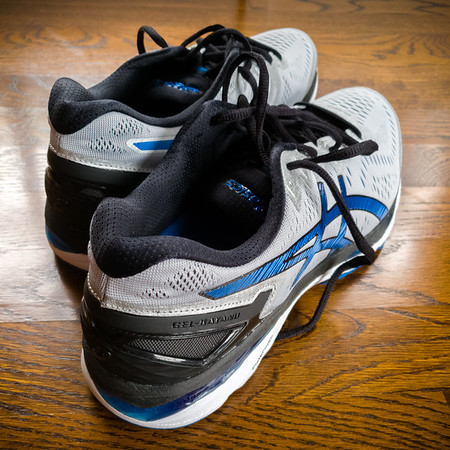 At my peak, I was going through four pairs of shoes per year.  Now I appear to be changing shoes only once per year.  That will change if I start training for marathons again...and I do want to run LA in 2020, meaning I will want to run one in 2019 so I can earn a position in one of the corrals.