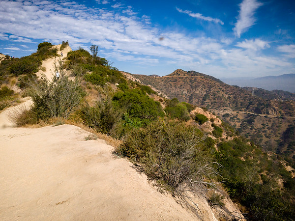 We continue our ascent on Hogback Trail