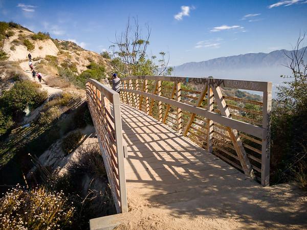 Bridge on Hogback Trail (facing north)