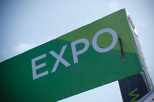 Entrance to the Expo