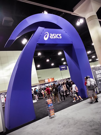 ASICS has replaced Honda as this year's title sponsor...and you cannot attend the Expo without walking through their well-stocked store