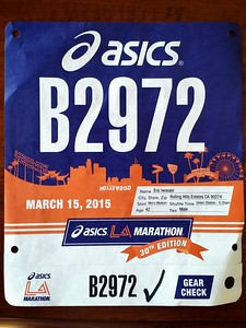 My bib...before it gets totally ruined