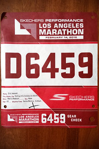 Last year's fever affected time still allowed me to qualify for Corral D, but, since I'll be running with Valerie, I won't be starting from there tomorrow morning