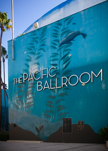 The Expo is actually inside The Pacific Ballroom...I tried to enter the Convention Center from an entrance along the walkway closest to Pine Avenue, but those doors were locked.