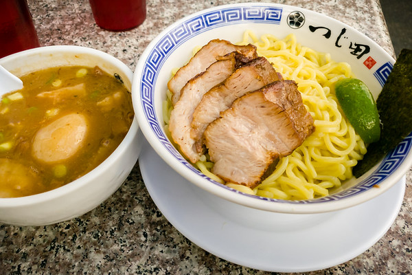 Okay, technically this is Tsukemen.  I feel their thicker noodles are even more ideal than ramen or pho as fuel before a marathon.  This is not the first time I've slurped here before an LA Marathon...and I hope it won't be the last.