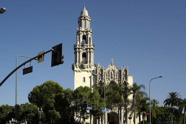 I run past another familiar sight...St. Vincent de Paul Roman Catholic Church