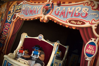 """This attraction is part ride, part 3D video game...the Disney Imagineering version of """"4D"""""""