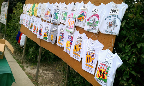 Past shirts...the style hasn't changed all that much over the years
