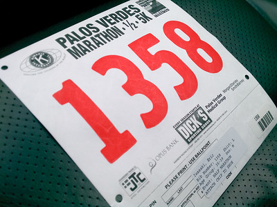 DAY 0 - No problem picking up bib and chip thanks to a pick up location practically around the corner from my office