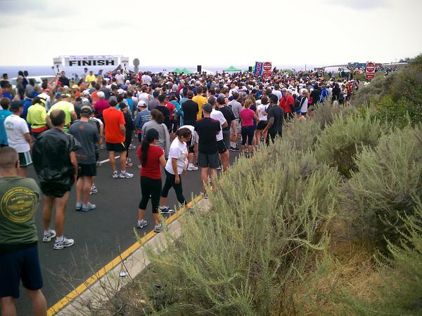 Palos Verdes Marathon / Half Marathon is about to begin
