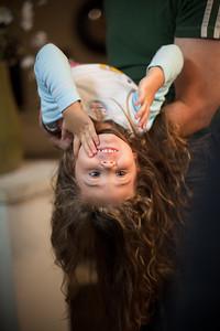 Gianna upside down