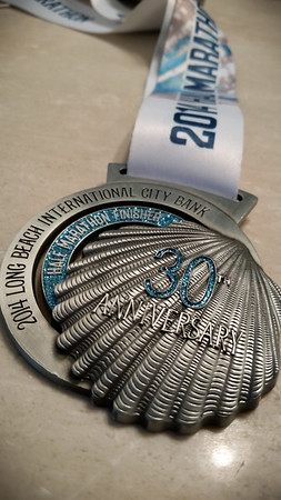 Another finisher's medal for my growing collection